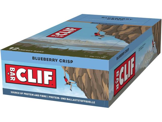 CLIF Bar Boîte Barres énergétiques 12 x 68g, Blueberry Crisp
